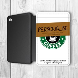 Coffee Cup Personalised Samsung iPad Mini Case