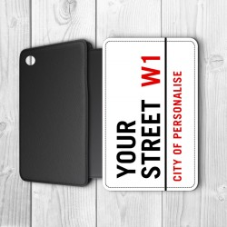 Street Sign Personalised Samsung Galaxy iPad Air Case