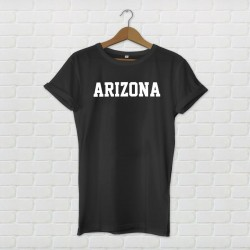 Arizona Varsity Style T-Shirt - Black