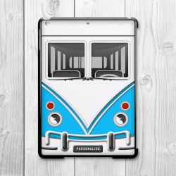 Camper Van Personalised iPad Mini Clip On Case (Blue)