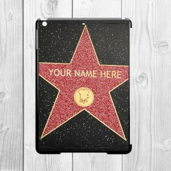 Hollywood Star Personalised iPad Air Clip On Case