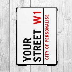 Street Sign Personalised Samsung Galaxy iPad Air Clip On Case