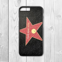 Holywood Star Personalised Iphone Case (Black)