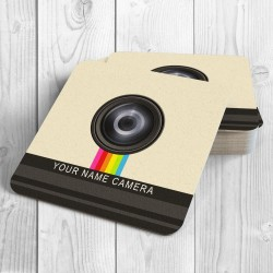 Camera Personalised Coaster