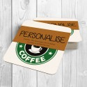 Coffee Cup Personalised Coaster